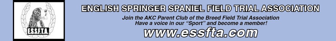 English Springer Spaniel Field Trials |