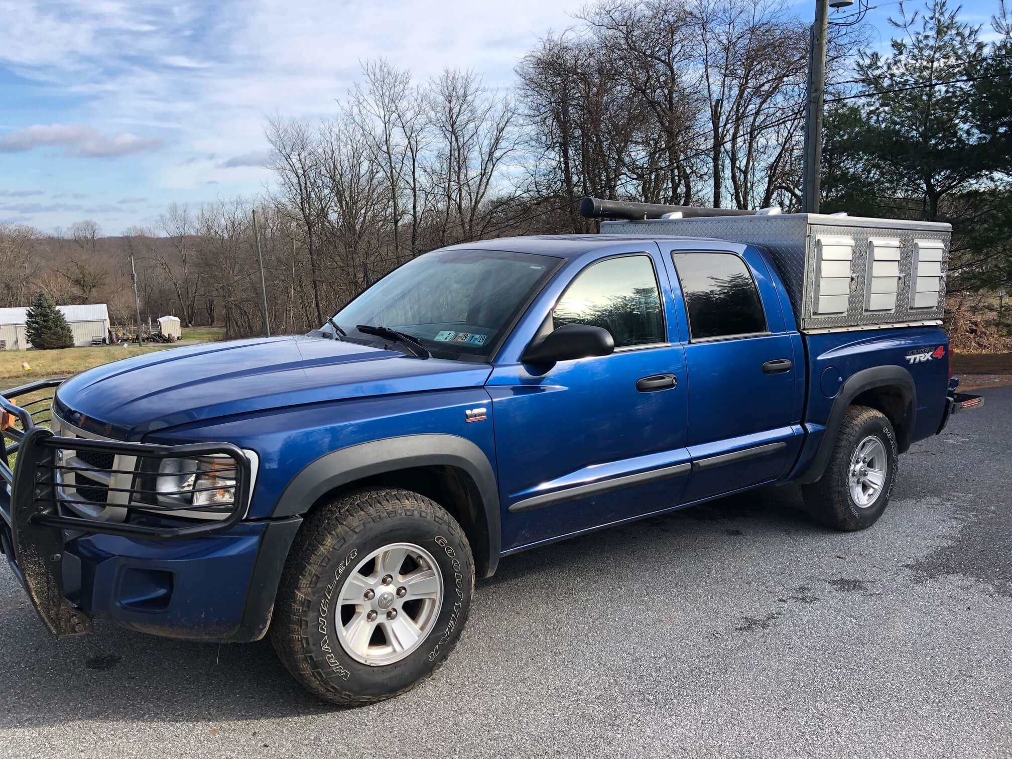 2009 Dodge Dakota TRX Off Road 4×4 with 6 Hole SS/DP Steel Topper